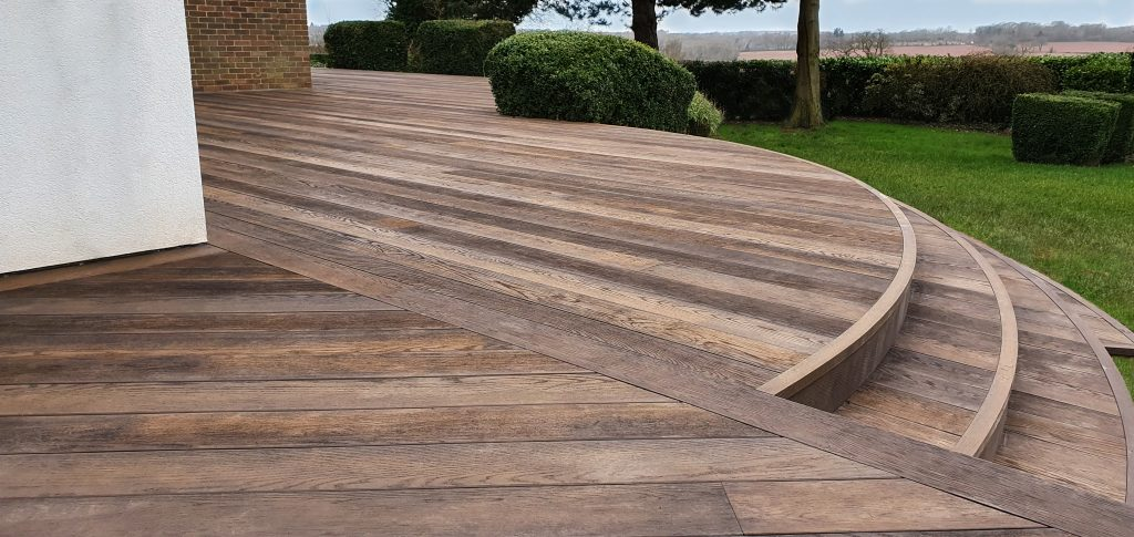 Millboard Antique Oak Decking