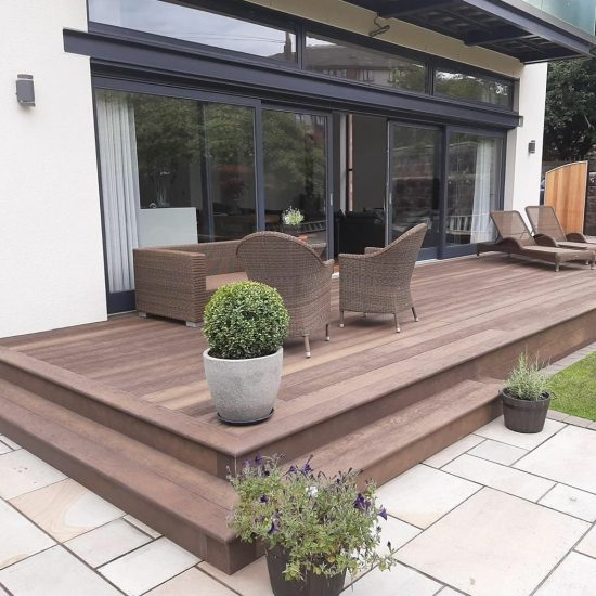 Millboard Antique Oak home